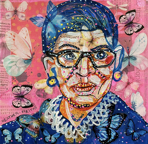 RBG & Butterflies Heather Freitas