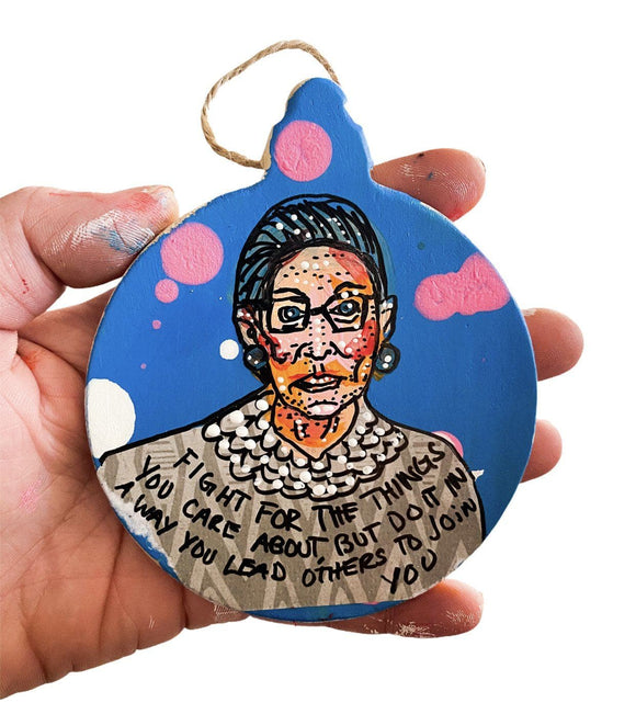 RBG - Lead Ornament Heather Freitas