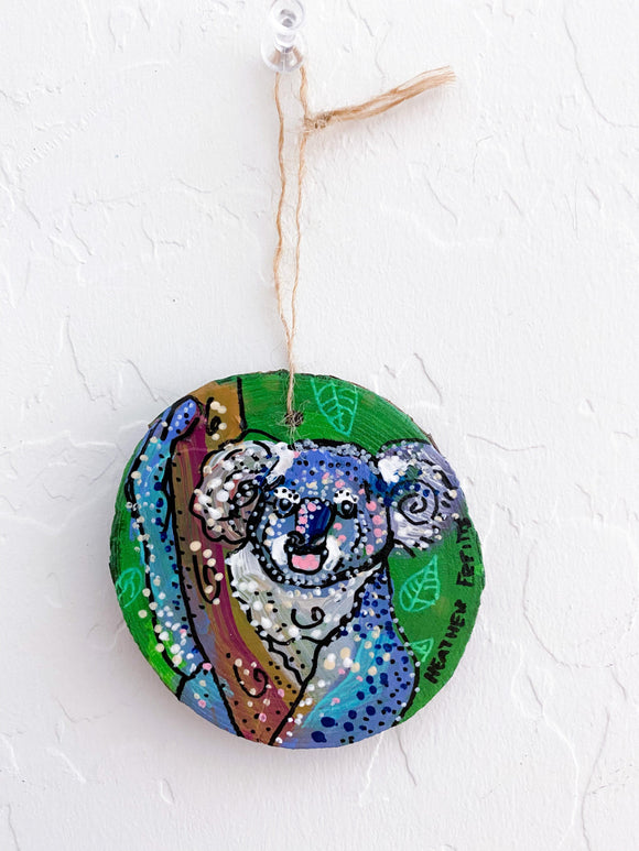 Sydney - Hand Painted Ornament Heather Freitas