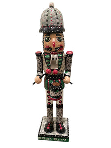 Traditional Red and Green Nutcracker Heather Freitas