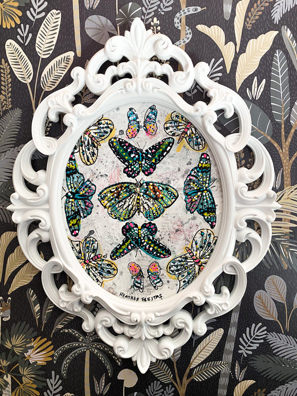 Vintage Butterflies Heather Freitas