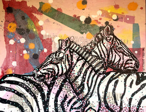 Zebra Love Heather Freitas