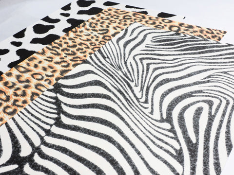 Animal Print Fabric Fake Outs