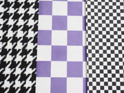 Graphic Print Fabric Fake Outs