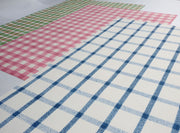 Plaid Print Fabric Fake Outs