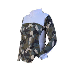 Load image into Gallery viewer, Camo riding shirt