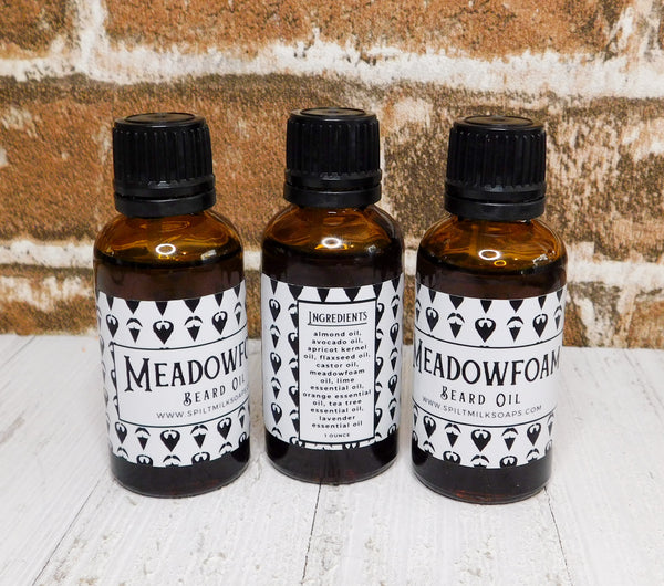 Meadowfoam Beard Oil