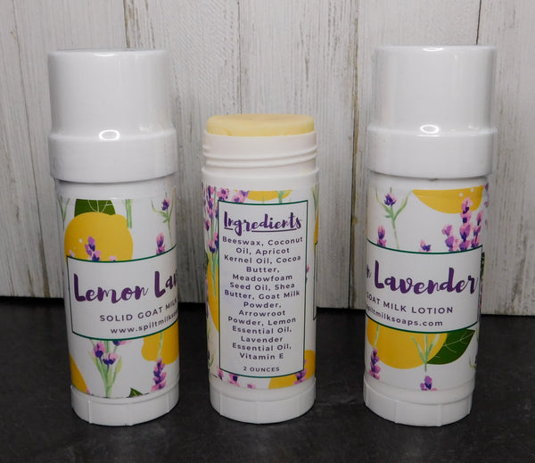 Lemon Lavender Solid Lotion