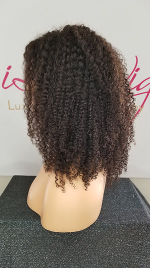 iLuvWigs- Natural Kinky Curly Bundle
