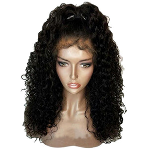 iLuvWig Curly Hair Lace Front Remy Human Hair Wigs With Baby Hair Pre Plucked Natural Hairline