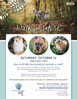 Walk For Pets 5K