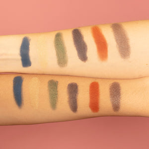 Swatches Paleta Las Luces