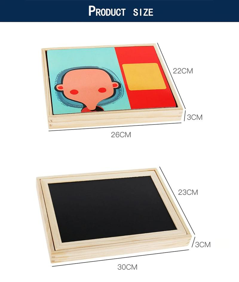 3D Puzzle Magnetic Board
