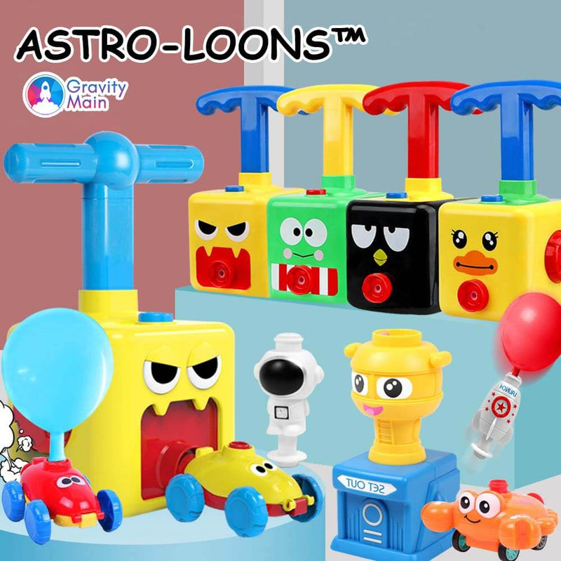 Astro-Loons™ - S.T.E.M. Balloon Launcher Toy Set