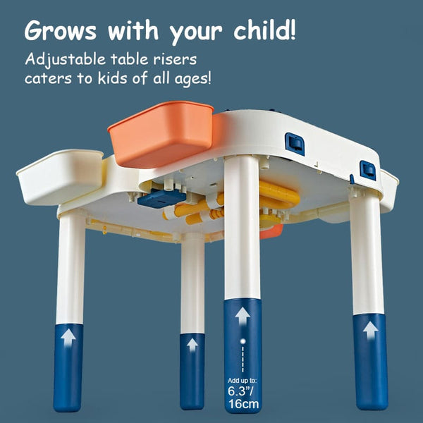 ErgoLab™ Portable Activity Table (Play, Craft & Water-Play Friendly)