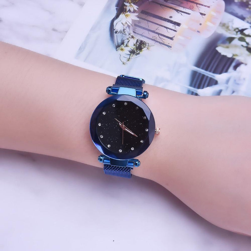 STARRY SKY Magnetic Strap Watch