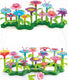 Build-a-Flower-Garden STEM Toy Set