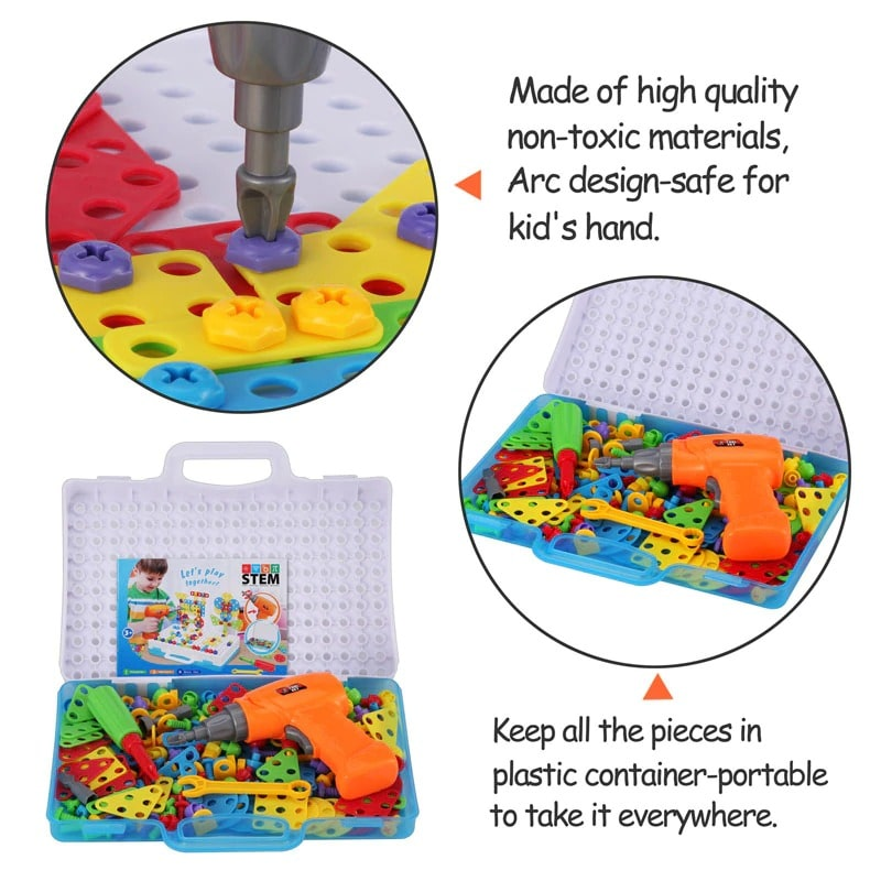 Creative Mosaic - Electric Drill Puzzle Set