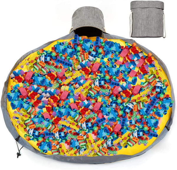 Kwikeep™ - X-Large Quick-Toy-Storage Bag / Playmat (Bricks Not Included)