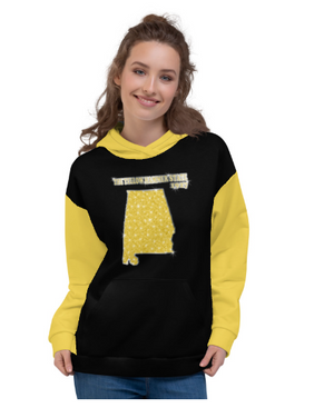 Allno States & Continents Hoodie - The Yellow Hammer State 1927