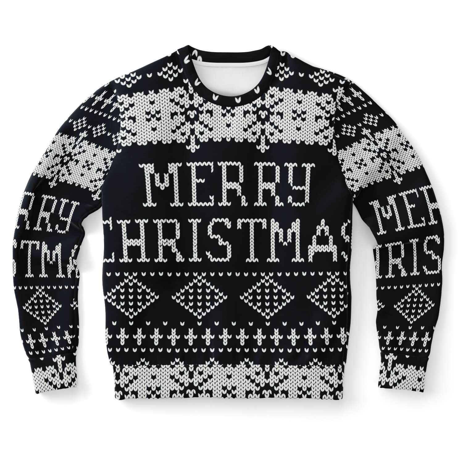 Allno Ugly Merry Christmas Sweatshirt