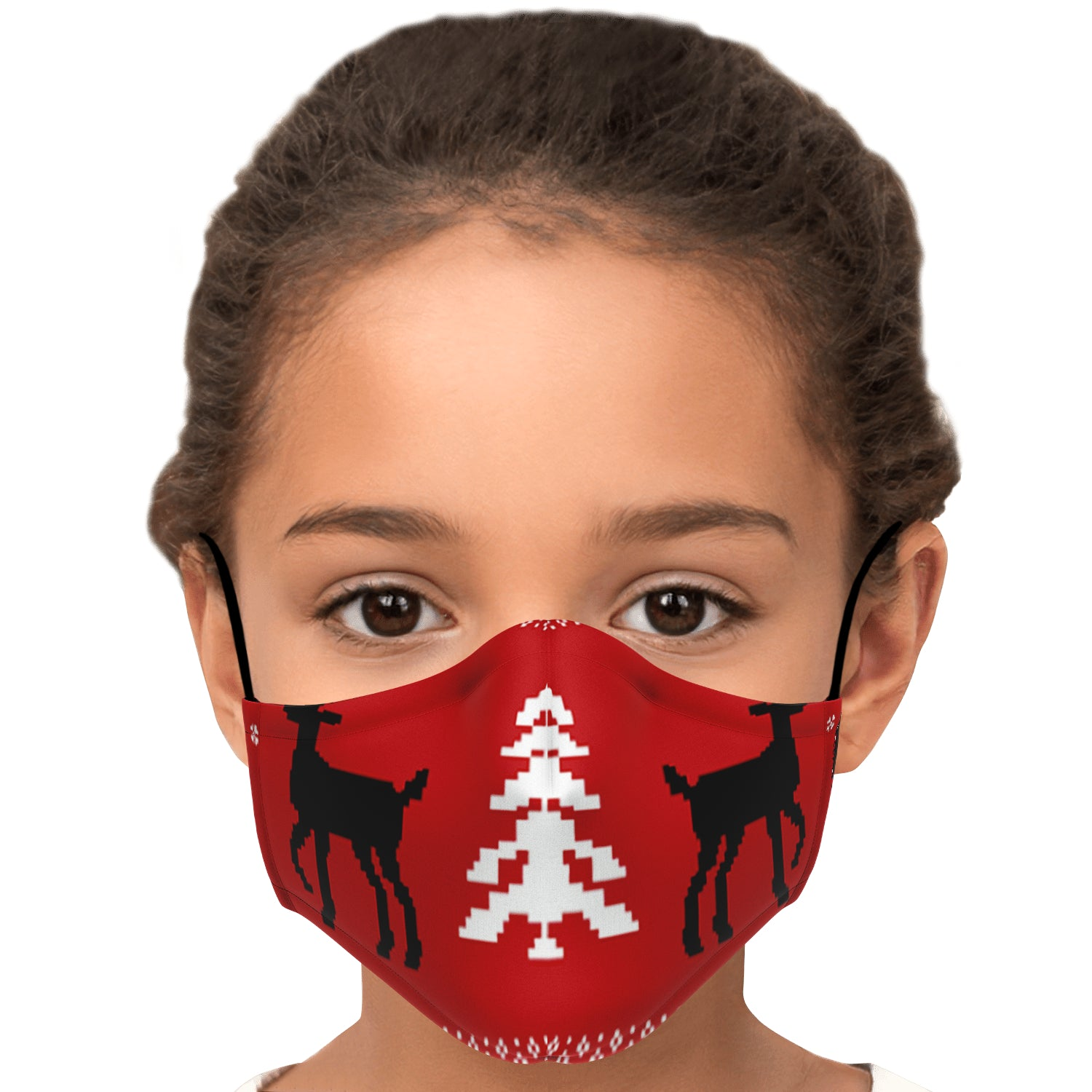 Allno A Reindeers Christmas Face Mask