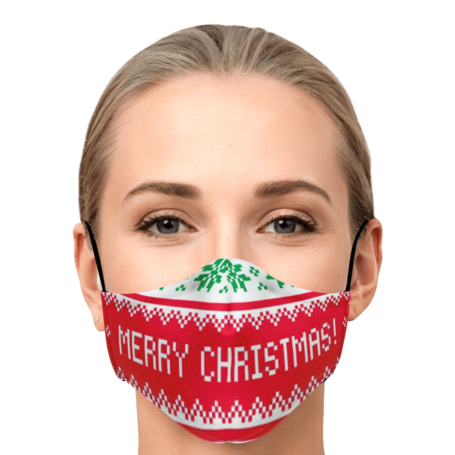 Allno Merry Christmas Face Mask