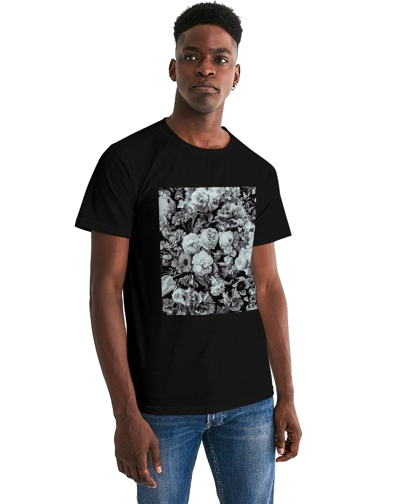 Allno Aged Botanical Men's Graphic Tee