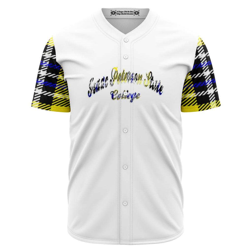 Allno Isaac Peterson State College Baseball Jersey