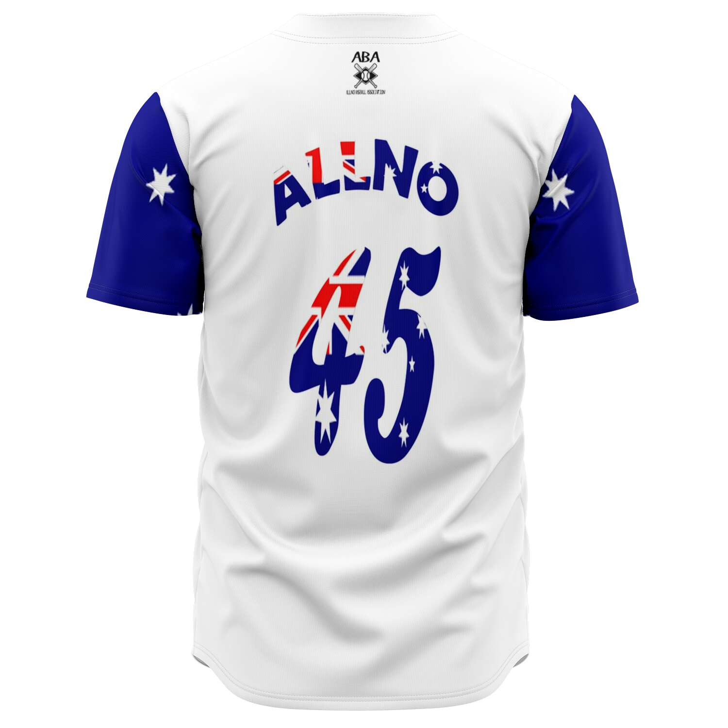 Allno Down Under ATM Baseball Jersey