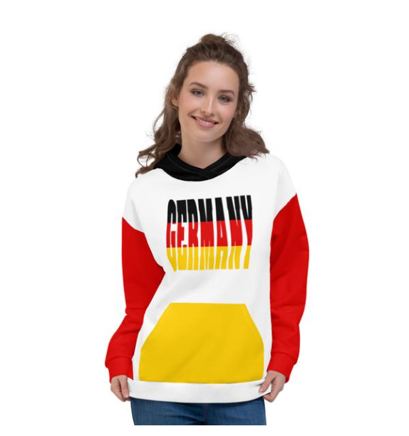 Allno World Countries Germany Hoodie
