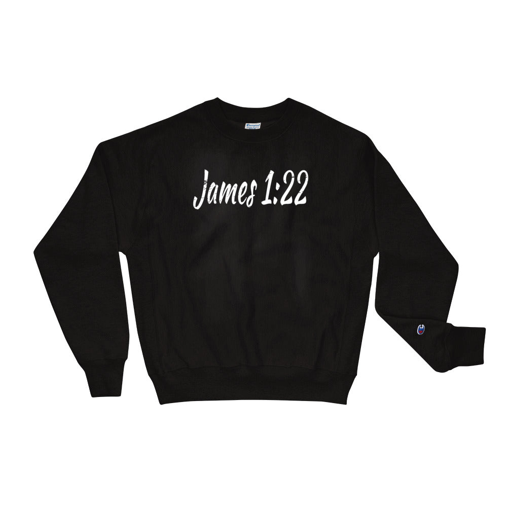 Allno James 1:22 Champion Sweatshirt