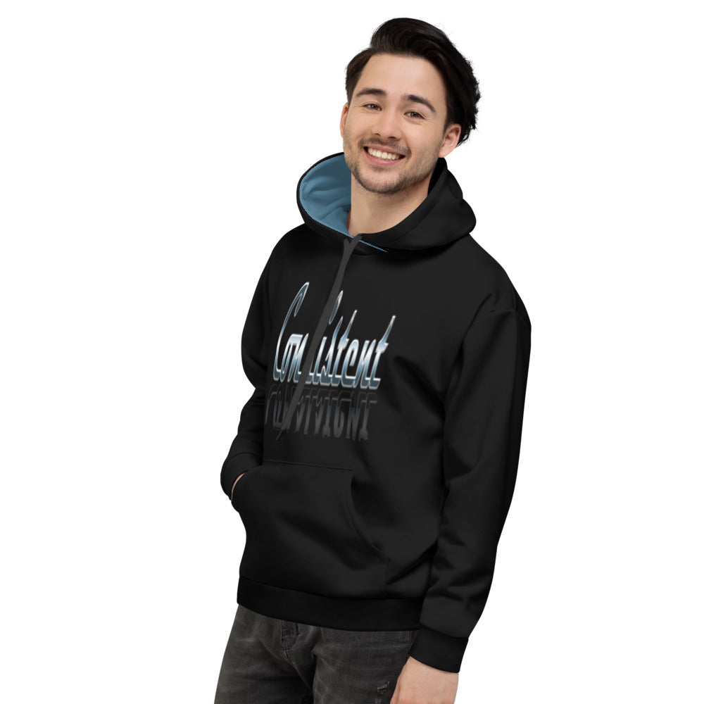 Allno Meaningful Words Consistent Hoodie