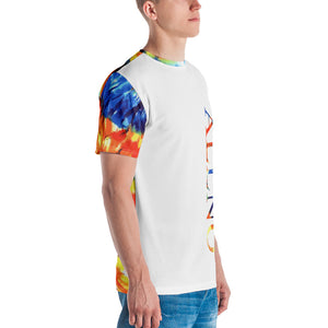 Allno Energized Organic Colors Tie Dye Men's Tee
