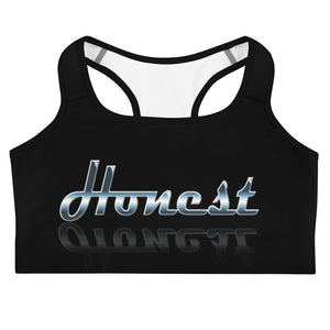 Allno Meaningful Words Honest Sports Bra