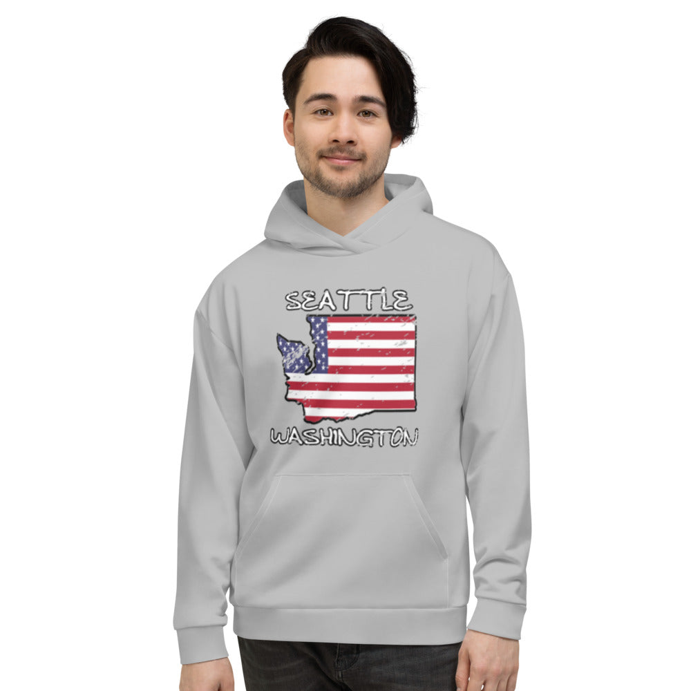 Allno Seattle Washington USA Hoodie
