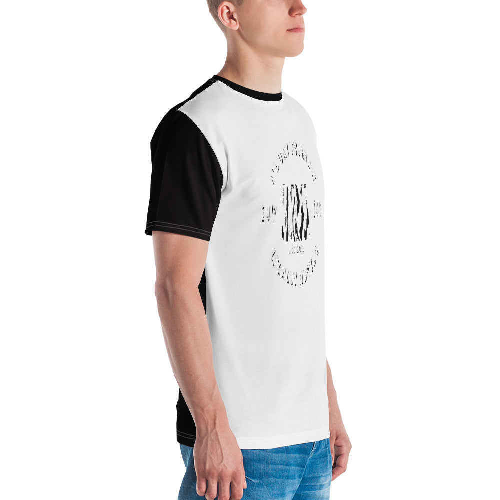 Allno Legally Hustln Men's Tee- Zebra