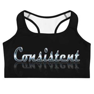 Allno Meaningful Words Consistent Sports Bra