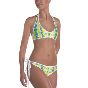 Allno Attractive Yellow Bikini