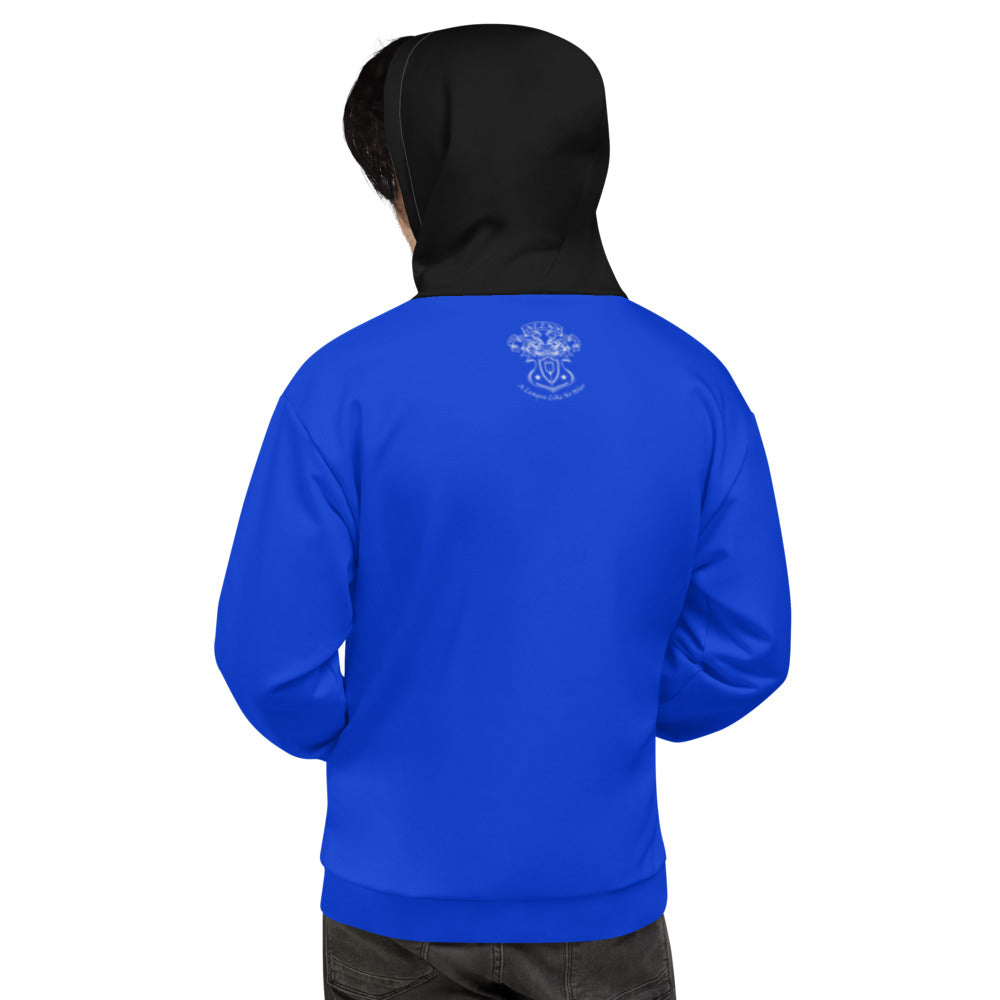 Allno Legally Hustln Hoodie - Blue & Black