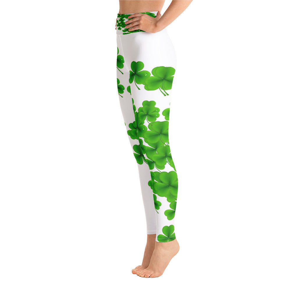 Allno Watered Clover Leggings