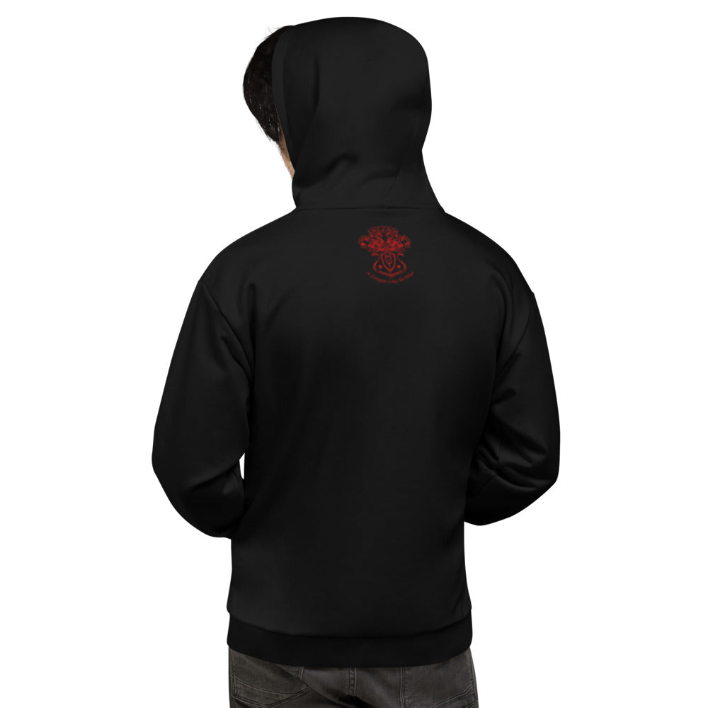 Allno Admit One Hoodie - Red