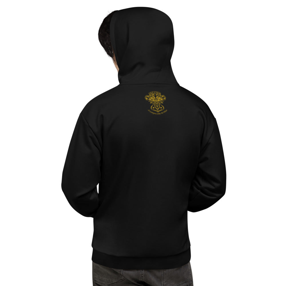 Allno Admit One Hoodie - Gold