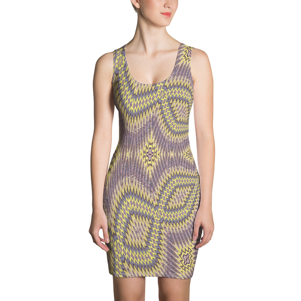 Allno Hidden Within Beauty All-Over Dress