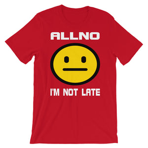 Allno I'm Not Late Emoji Men's Tee