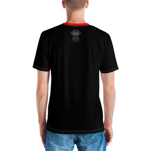 Allno Legally Hustln Men's Tee- Black & Red