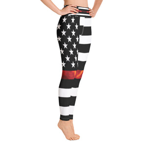 Allno Stars and Stripes Real Flame Leggings