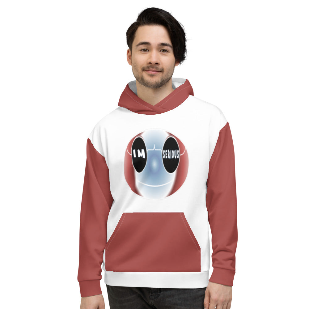 Allno Big Face Hoodie - I'm Serious