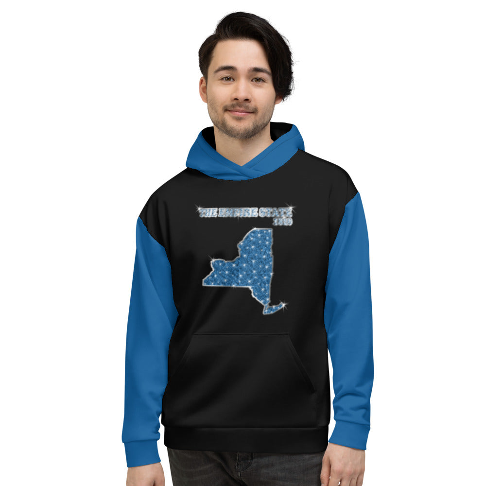 Allno States & Continents Hoodie - The Empire State 1820