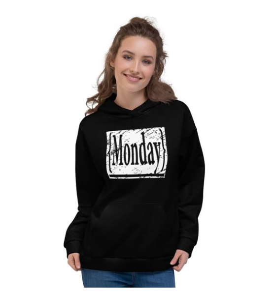 Allno 7 Day's Of The Week Hoodie - Monday